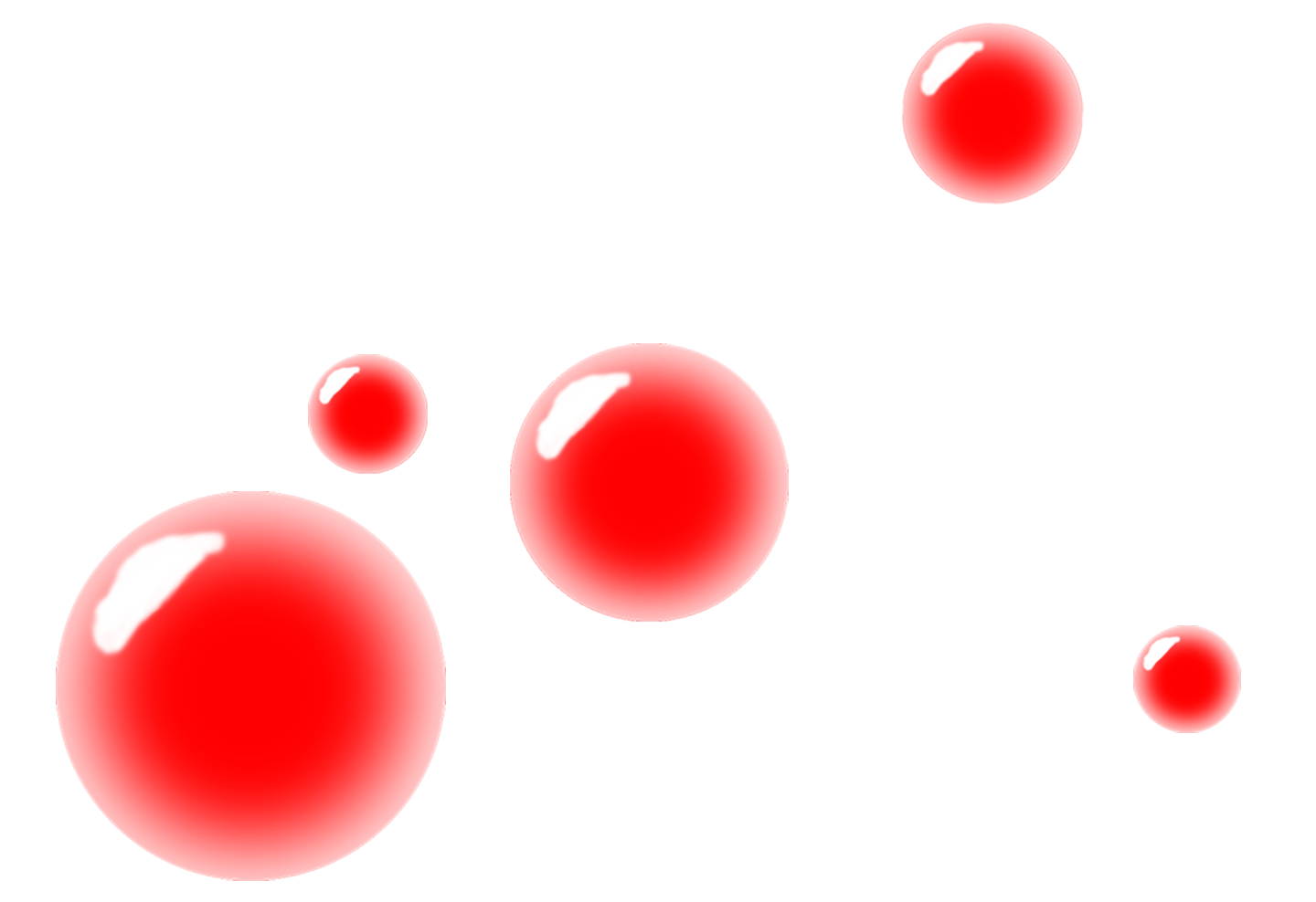 Red Bubbles Png Red Bubbles